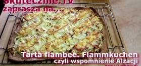 """Domowa """"pizza"""" inna niż wszystkie. Nie potrzebujesz drożdży"""