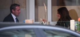 Rosati z 51-letnim Śmigielskim wygłupiają się w kawiarni