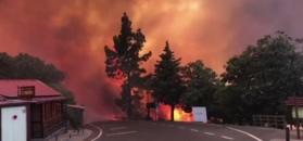 Gran Canaria walczy z pożarem