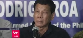 Prezydent Filipin skaże syna na śmierć?