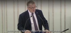 Skandaliczna wypowiedź senatora Bonkowskiego