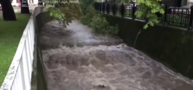 Rzeki na południu Polski przekroczyły stany alarmowe