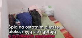 """Para z Lublina mieszka na klatce schodowej. Zaufali oszustowi od """"chwilówek"""""""