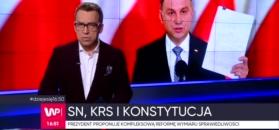 Prezydent pokazał swoje projekty ustaw o SN i KRS
