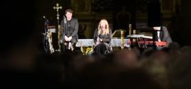Kuszyńska opowiada w kościele o życiu po wypadku.