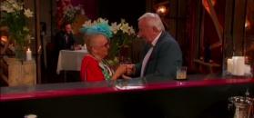 Flirt pary emerytów w