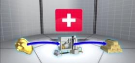 Złoto w szwajcarskich kanałach
