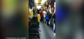 Ksenofobiczny incydent w tramwaju w Poznaniu