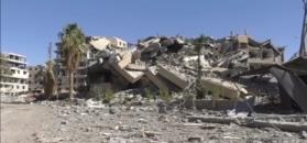 Rosja oskarża USA o zniszczenie syryjskiego miasta