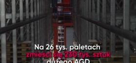 Jedyny taki magazyn. Amica uruchomiła inwestycję za 57 mln zł