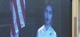 Wnuczka Trumpa śpiewa po mandaryńsku