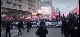 Kontrowersyjne hasła na Marszu Niepodległości