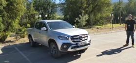 Mercedes-Benz Klasy X - prezentacja możliwości pickupa z silnikiem V6