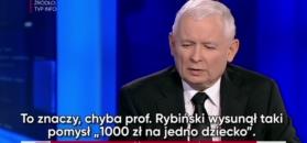 """Jarosław Kaczyński w TVP Info: to ja wymyśliłem """"500+"""""""
