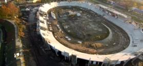 Stadion Orła Łódź nabiera pięknych kształtów! Zobacz na jakim jest etapie (WIDEO)
