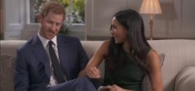 Książę Harry i jego przyszła żona stroją sobie żarty przed kamerą