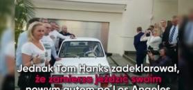 Tom Hanks odebrał swojego malucha