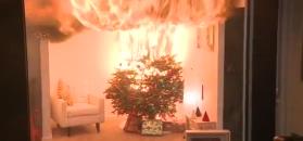Strażacy: 40 sekund, by Święta zmienić w piekło. Sprawdzajcie światełka