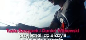 Polscy kitesurferzy w Brazylii
