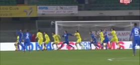 Obrona z Jaroszyńskim nie była monolitem - zobacz skrót Chievo Werona - Bologna FC [ZDJĘCIA ELEVEN SPORTS]