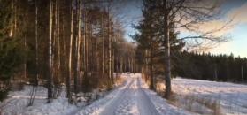 Za taką zimą tęsknimy. Spacer po szwedzkim Ostersund