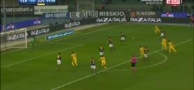 Szczęsny bez szans przy strzale Caceresa - skrót meczu Hellas Werona - Juventus Turyn [ZDJĘCIA ELEVEN SPORTS 1]