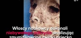 Badacze przeanalizowali DNA mumii dziecka