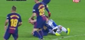 Majstersztyk Luisa Suareza - skrót meczu Real Sociedad - FC Barcelona [ZDJĘCIA ELEVEN SPORTS 1]