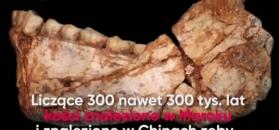 Homo sapiens opuścili Afrykę 100 tys. lat wcześniej niż sądzono