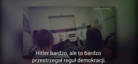 """""""Polakom było lepiej za Hitlera niż za Merkel"""". Narodowcy zorganizowali kontrowersyjny wykład"""