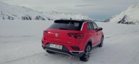 Volkswagen T-Roc w alpejskiej scenerii