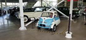 BMW Isetta w muzeum motoryzacji w Chile
