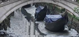 W kanałach w Wenecji