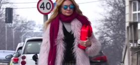 Olejnik powraca w stroju Yeti i różową torebeczką za 6 tysięcy złotych