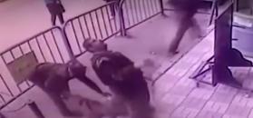 Policjant złapał 5-latka spadającego z balkonu