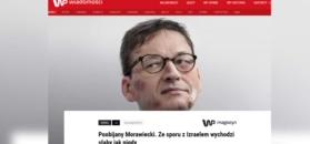 """Publicyści komentują grafikę WP. """"Morawiecki jest politycznie poturbowany"""""""