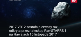 Niebezpieczna asteroida przeleci w pobliżu Ziemi. Oto 2017 VR12