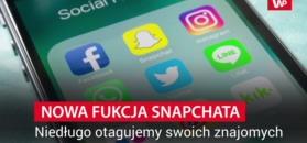 Snapchat testuje nową funkcję