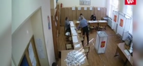 Nagrania z rosyjskich lokali wyborczych