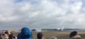 An-124 Rusłan wylądował w Polsce