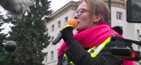 Czarny Piątek pod Sejmem. Marcinek do polityków: jesteście tchórzami