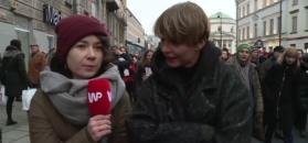 Czarny Piątek na ulicach Warszawy. Sokołowska: jestem za tolerancją