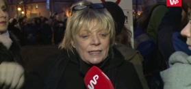 Stalińska na strajku kobiet: politycy i biskupi chcą zmusić kobiety do rodzenia chorych dzieci i zostawić je same
