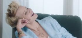 Kożuchowska reklamuje biżuterię.