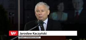 Jarosław Kaczyński dziękuje Macierewiczowi.