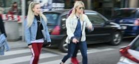 Mandaryna na wiosennym spacerze z Xavierem i Fabienne