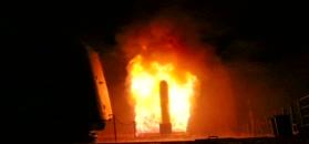 Amerykanie pokazali moment wystrzelenia rakiety w Syrię