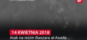 Departament Obrony USA publikuje wideo z ataku na Syrię