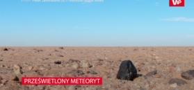 Jedyne takie odkrycie w historii. Naukowcy przeskanowali meteoryt