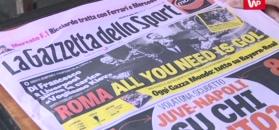"""""""Roma tworzy historię"""". Włoskie media żyją półfinałem Ligi Mistrzów"""